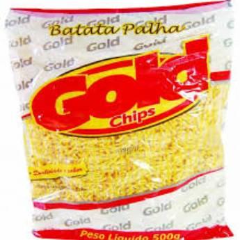 Comprar o produto de Batata palha Gold Chips 500gr em Alimentos e Bebidas em Botucatu, SP por Solutudo