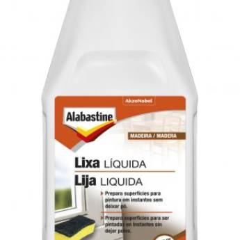 Comprar o produto de LIXA LIQUIDA ALABASTINE em Coral em Boituva, SP por Solutudo