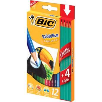 Comprar o produto de Lápis Bic Evolution + 4 lápis em Canetas, Lápis e Afins pela empresa Eloy Festas em Jundiaí, SP por Solutudo