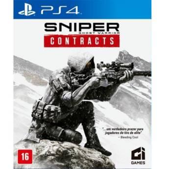 Comprar o produto de Sniper Ghost Waarrior Contracts - PS4 em Jogos Novos pela empresa IT Computadores, Games Celulares em Tietê, SP por Solutudo