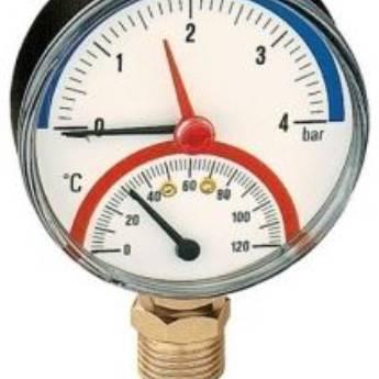 """Comprar produto Termomanômetro 1/2"""" M 4 Bar - AS503140  em Aquecedores pela empresa Asolar Acessórios Solares em Birigui, SP"""