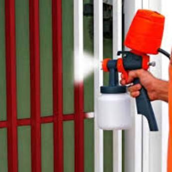 Comprar o produto de Pintura de Portões em Outros Serviços em Botucatu, SP por Solutudo