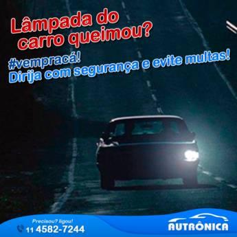 Comprar o produto de Lâmpada Automotiva em Veículos e Transportes em Jundiaí, SP por Solutudo