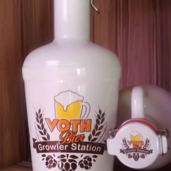 Comprar produto Growler de Cerâmica em Bebidas pela empresa Voth Bier em Araçatuba, SP