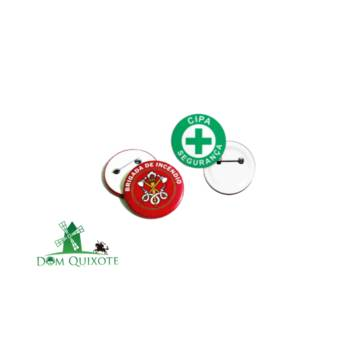 Comprar o produto de Botons da CIPA e Brigada em Diversos pela empresa Dom Quixote Equipamentos de Proteção Individual em Jundiaí, SP por Solutudo