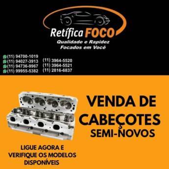 Comprar o produto de Venda de Cabeçotes Semi-novos em Acessórios para Veículos em Jundiaí, SP por Solutudo