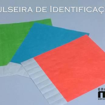Comprar o produto de Pulseiras de identificação em Gráficas e Impressão em Bauru, SP por Solutudo