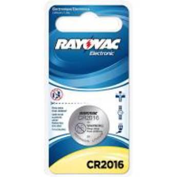 Comprar o produto de Bateria CR 2016 - Rayovac em Chaveiros em Foz do Iguaçu, PR por Solutudo