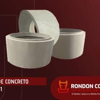 Comprar o produto de Anel de Concreto para Poço e Fossa em Construção em Birigui, SP por Solutudo