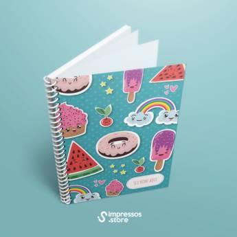 Comprar produto Cadernos personalizados em Gráficas e Impressão pela empresa Impressos Store em Araçatuba, SP