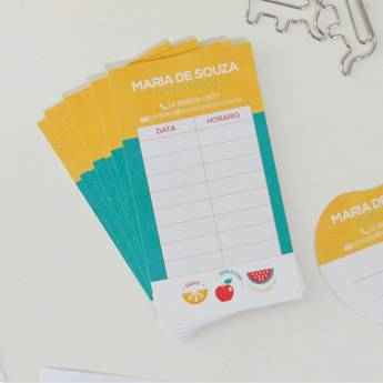 Comprar o produto de Cartão de Retorno  em Personalizados em Bauru, SP por Solutudo