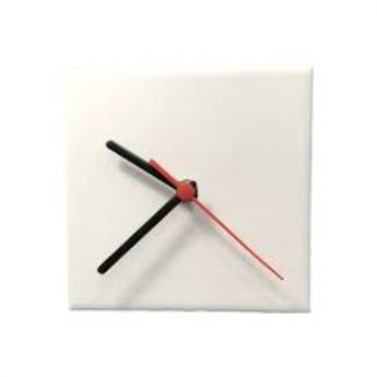 Comprar o produto de Relógio em azulejos Personalizados 15x15 em Relógios em Botucatu, SP por Solutudo