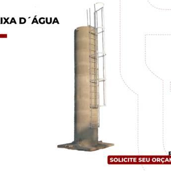 Comprar o produto de Caixa D' água 6.000 Litros em Construção pela empresa Rondon Cochos e Alambrados em Birigui, SP por Solutudo