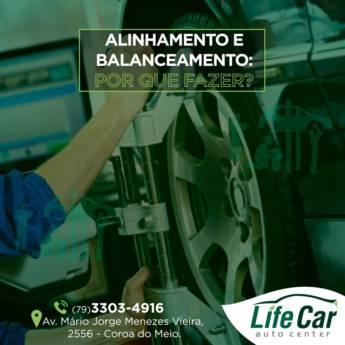 Comprar o produto de Alinhamento e balanceamento em Veículos e Transportes em Aracaju, SE por Solutudo