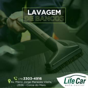 Comprar o produto de Lavagem de bancos  em Veículos e Transportes em Aracaju, SE por Solutudo