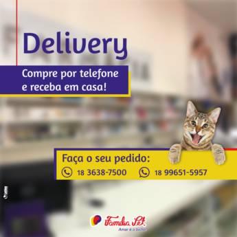 Comprar o produto de Delivery - Compre por telefone e receba em casa! em Animais em Birigui, SP por Solutudo