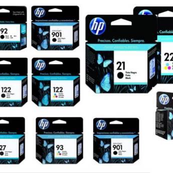 Comprar o produto de Cartuchos HP em Cartuchos Jato de Tinta em Birigui, SP por Solutudo