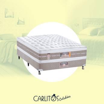 Comprar o produto de Cama box Casal CASTOR em Cama Box em Botucatu, SP por Solutudo