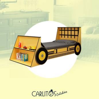 Comprar o produto de Cama Trator Infantil em Infantis em Botucatu, SP por Solutudo