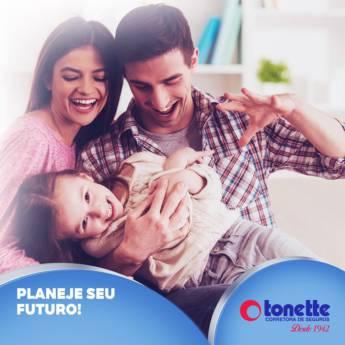 Comprar o produto de Planeje seu futuro em Seguros pela empresa Tonette Corretora de Seguros Ltda em Birigui, SP por Solutudo