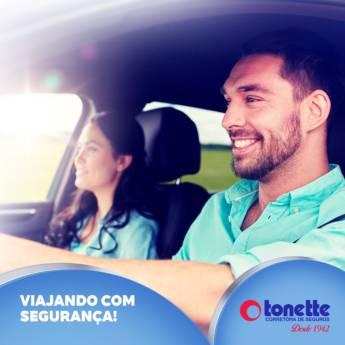 Comprar o produto de Viajando com segurança em A Classificar pela empresa Tonette Corretora de Seguros Ltda em Birigui, SP por Solutudo