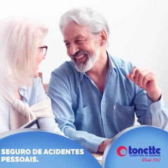 Comprar o produto de Seguro Acidentes Pessoais em A Classificar pela empresa Tonette Corretora de Seguros Ltda em Birigui, SP por Solutudo