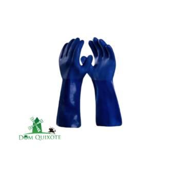 Comprar o produto de Luva de PVC 36cm - SUPER SAFETY em Luvas pela empresa Dom Quixote Equipamentos de Proteção Individual em Jundiaí, SP por Solutudo