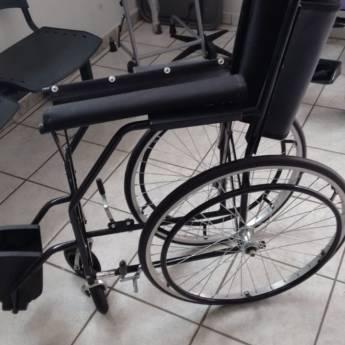 Comprar produto Cadeira log aro 24 em alumínio adulto em Outros pela empresa Ortopedia Nunes Produtos Ortopédicos em Botucatu, SP