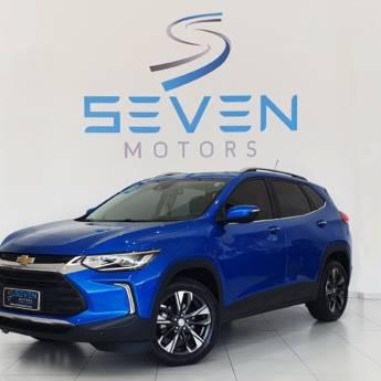 Comprar o produto de CHEVROLET TRACKER 1.2 4P FLEX TURBO PREMIER AUTOMÁTICO1.2 4P FLEX - 2020/2021 em Carros em Botucatu, SP por Solutudo