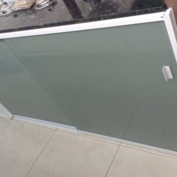 Comprar o produto de Porta Pia de Vidro e Acrílico em Vidraçaria em Botucatu, SP por Solutudo