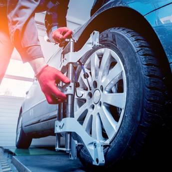 Comprar produto Balanceamento em Veículos e Transportes pela empresa Mecânica Visauto em Atibaia, SP