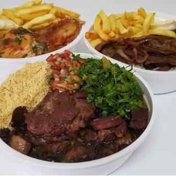 Comprar produto Marmitex Média em Alimentos pela empresa Marmitaria do Geraldinho em Bauru, SP
