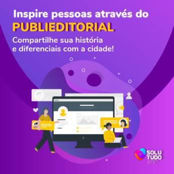 Comprar produto Publieditorial em Marketing e Internet pela empresa Solutudo Jundiaí em Jundiaí, SP