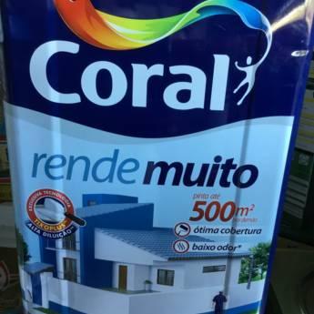 Comprar o produto de Tinta Coral Exterior - Interior Acrílico Fosco Standard 18 lts em Tintas e Impermeabilizantes em Foz do Iguaçu, PR por Solutudo
