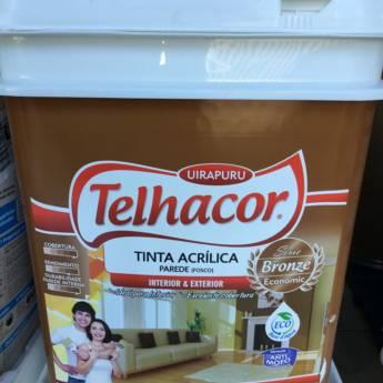 Comprar o produto de Tinta Telhacor - Interior & Exterior 18 Lts em Tintas e Impermeabilizantes em Foz do Iguaçu, PR por Solutudo