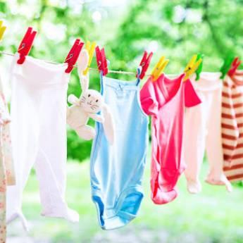 Comprar o produto de Lavagem de Roupinha de Bebê em Outros Serviços pela empresa Lavanderia Mary em Foz do Iguaçu, PR por Solutudo