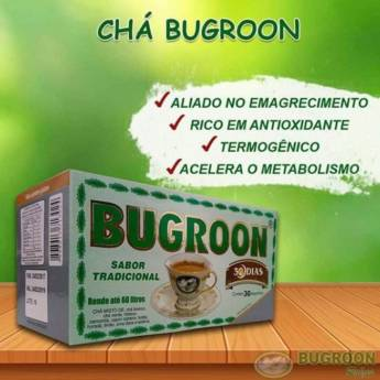Comprar o produto de Chá Bugroon  em Produtos Naturais pela empresa Viva Natural  em Foz do Iguaçu, PR por Solutudo