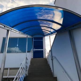 Comprar o produto de Túnel em policarbonato em Construção em Birigui, SP por Solutudo