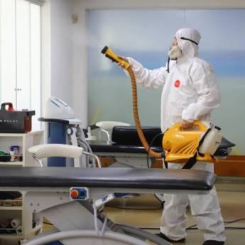 Comprar o produto de Sanitização e Desinfecção de Ambientes (vírus, bactérias e fungos) em Outros Serviços em Conchas, SP por Solutudo