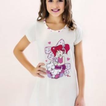 Comprar o produto de CAMISÃO ALGODÃO INFANTIL em Moda Infantil pela empresa Corpo de Mulher em Aracaju, SE por Solutudo