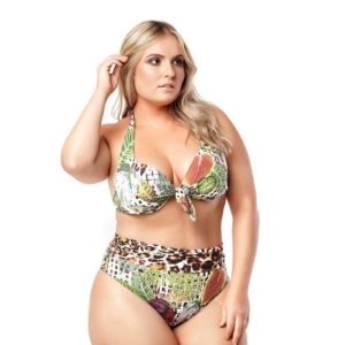 Comprar o produto de BIQUÍNI COM BOJO em Moda Plus Size em Aracaju, SE por Solutudo