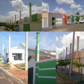 Comprar o produto de Poste Coluna em Poste Padrão pela empresa Postes São Conrado em Birigui, SP por Solutudo