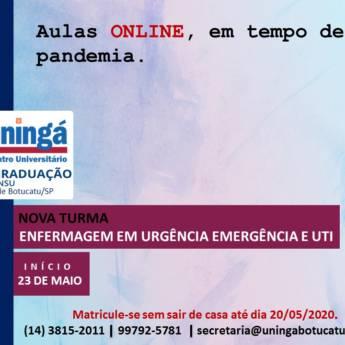 Comprar o produto de Pós-Graduação de Enfermagem em Urgência, Emergência e UTI em Faculdades e Universidades em Botucatu, SP por Solutudo