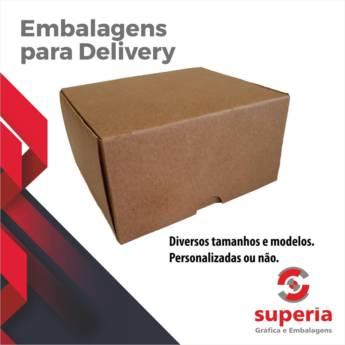 Comprar o produto de Embalagens para Delivery em Personalizados em Bauru, SP por Solutudo