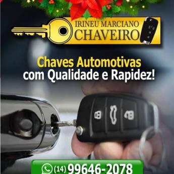 Comprar produto Chaves Automotivas em Outros Serviços pela empresa Chaveiro Marciano 24 horas em Botucatu, SP