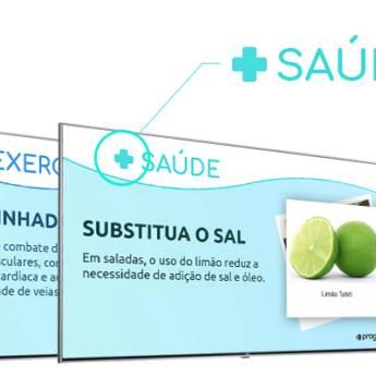 Comprar o produto de Software de tv corporativa e  chamada de senha para postos de saúde  em Comunicação em Aracaju, SE por Solutudo