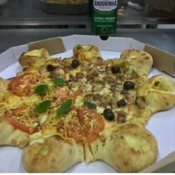 Comprar o produto de Meia Marguerita // Meia Bacon em Pizzas pela empresa Na Chácara Pizzaria em Botucatu, SP por Solutudo