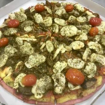 Comprar o produto de Pizza de Cogumelos em Pizzas em Botucatu, SP por Solutudo