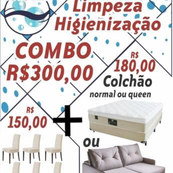 Comprar o produto de Combo da limpeza. em Ofertas: Serviços Locais em Botucatu, SP por Solutudo