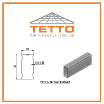 Comprar o produto de Perfil Terça em Construção em Tietê, SP por Solutudo